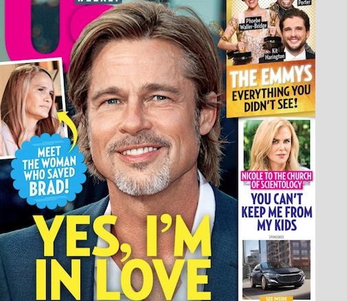 Brad Pitt có bạn gái mới
