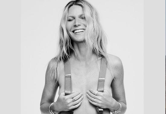 Gwyneth Paltrow chụp ảnh gợi cảm