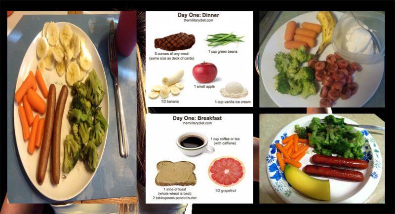 Military Diet: Giảm 10lbs chỉ trong 1 tuần