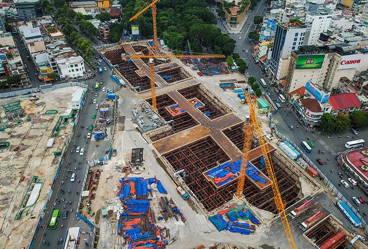 Sài Gòn sắp xây trung tâm thương mại ngầm