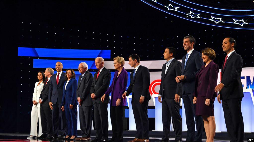 Đảng Dân chủ: Cuộc tranh luận thứ Tư giữa các ứng viên Tổng thống