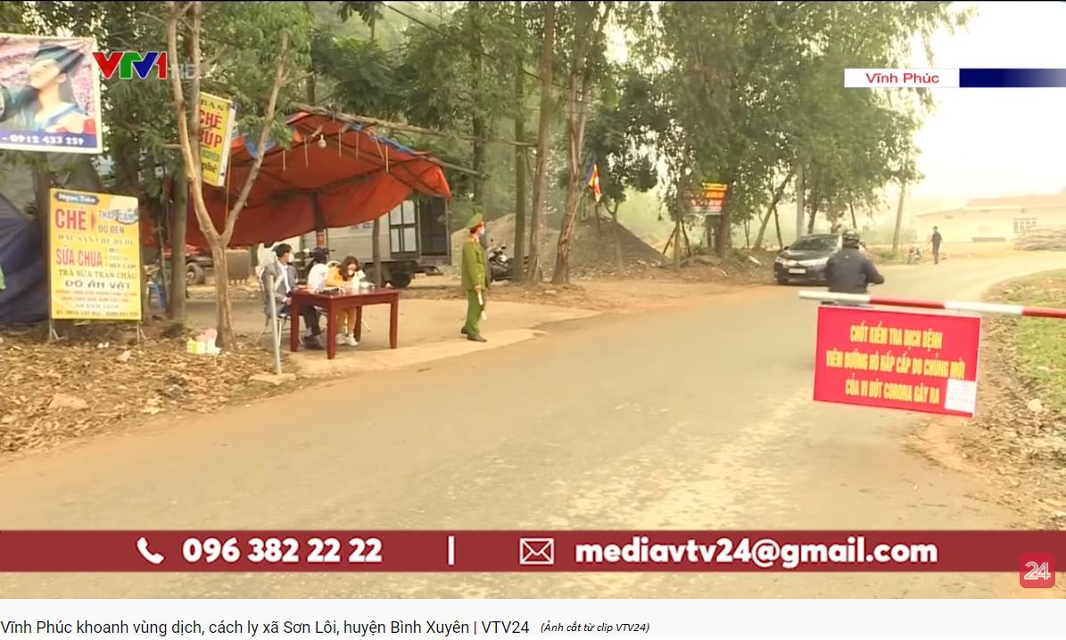 Bệnh nhân COVID-19 thứ 16 ở Việt Nam cũng ở Bình Xuyên, Vĩnh Phúc