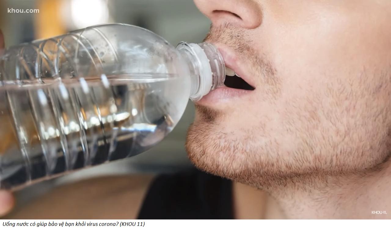 Sai lầm chết người khi tưởng uống nước chống được virus corona