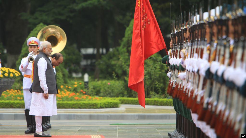 Ấn Độ-Việt Nam củng cố hợp tác quân sự-quốc phòng