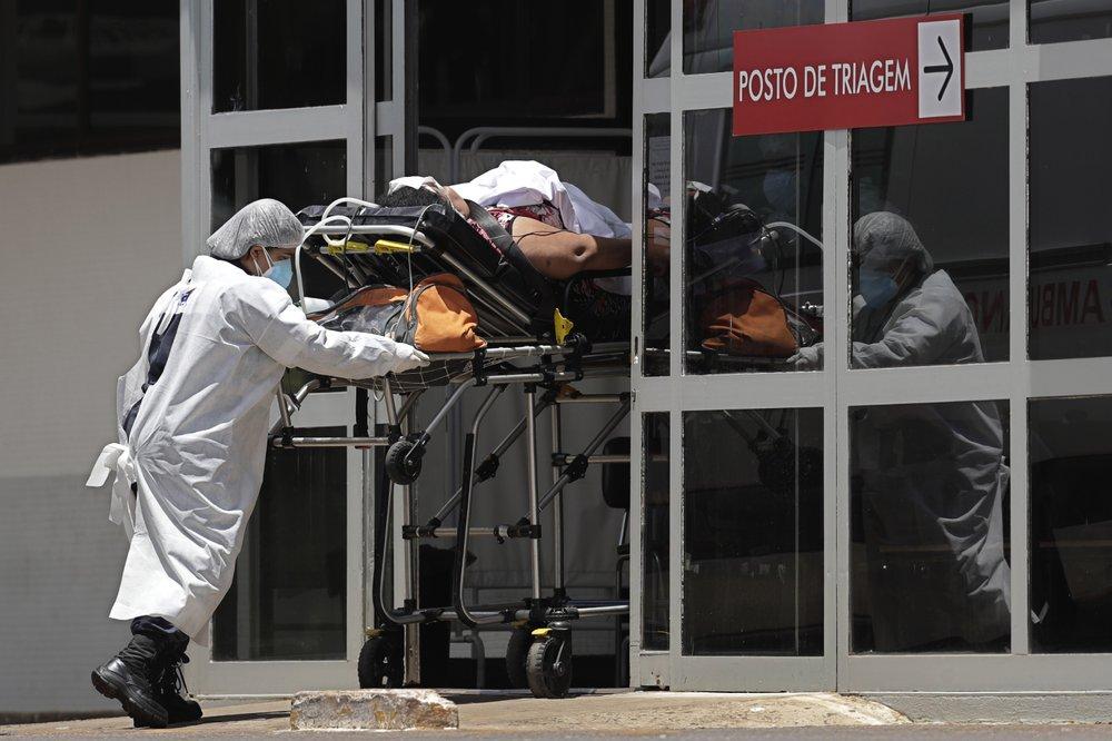 Số người chết vì COVID-19 ở Brazil có thể sắp vượt qua Mỹ
