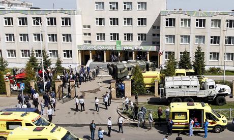 Nga: xả súng trường học, 11 người thiệt mạng, nhiều người bị thương